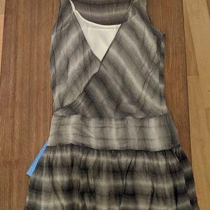 Armani Exchange ruffle dress